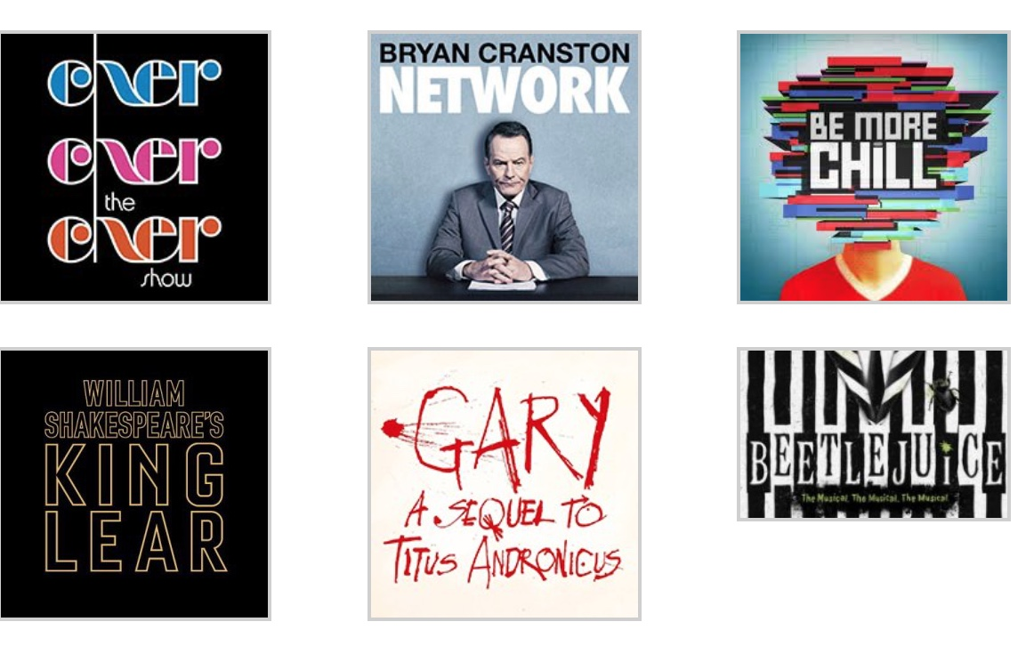 Broadway 2018-2019 Season Guide