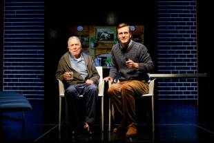 Greg Mullavey as Grandfather and Mark Junek as Walter in Final Follies