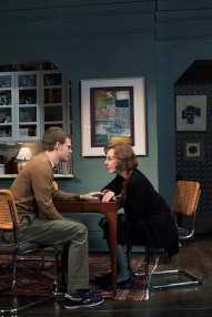 Lucas Hedges and Elaine May in The Waverly Gallery by Kenneth Lonergan, directed by Lila Neugebauer.