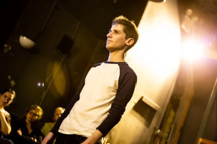 11 Noah Robbins in CLARKSTON, part of LEWISTON : CLARKSTON at Rattlestick Playwrights Theater - Photo by Jeremy Daniel