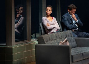 American Son 2 Kerry Washington, Steven Pasquale in AMERICAN SON, Photo by Peter Cunningham, 2018