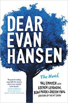 Dear Evan Hansen novel book cover