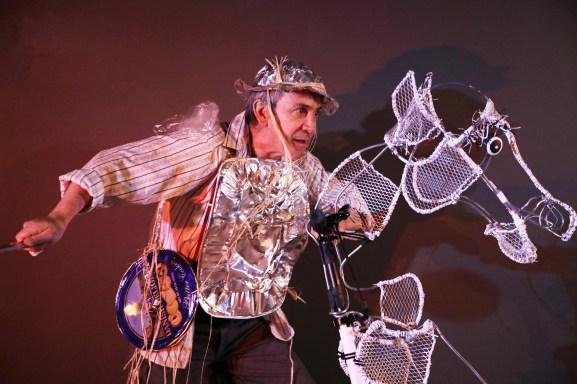 """La Mama Puppet Festival's """"Don Quixote Takes New York"""""""