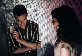 Rakel Aroyo as the girl and Amar Biamonte as the boy in Hidden Ones