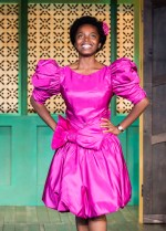 "MaameYaa Boafo in the MCC Theater production of ""School Girls; Or, the African Mean Girls Play"""