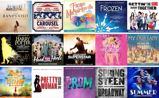 Poll: Best Broadway Cast Recording of 2018