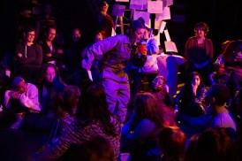 Marisol Rosa-Shapiro as Pizza Rat in Up Close Festival