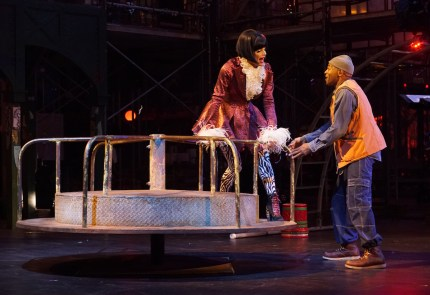 RENT: Valentina and Brandon Victor Dixon as Angel and Tom Collins
