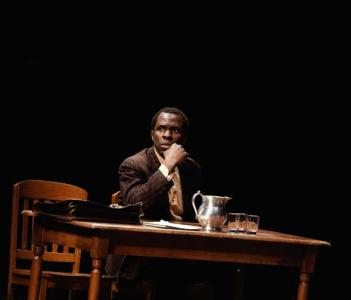 Gbenga Akinnagbe as Tom Robinson in To Kill A Mockingbird