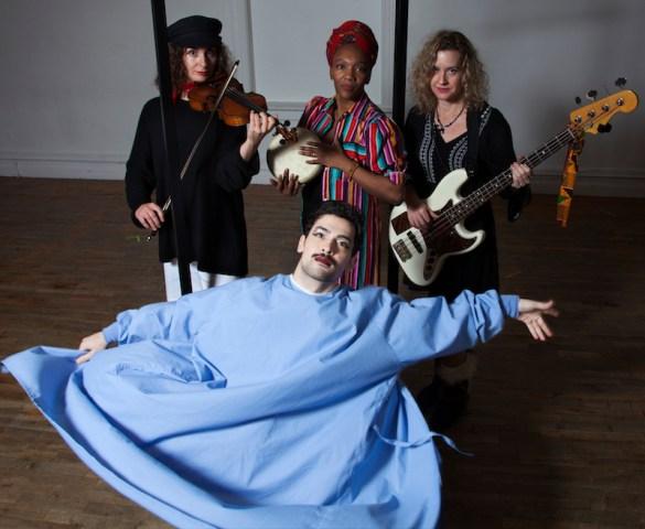 : Eden Zane (foreground); Goussy Célestin, Marija Kovacevic, Dawn Drake.