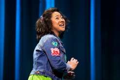 14 Stephanie Hsu in Be More Chill on Broadway