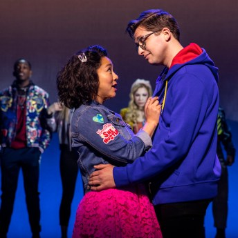 8 Be More Chill on Broadway STEPHANIE-HSU-and-WILL-ROLAND