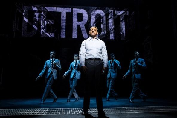 Derrick Baskin as Otis Williams, front