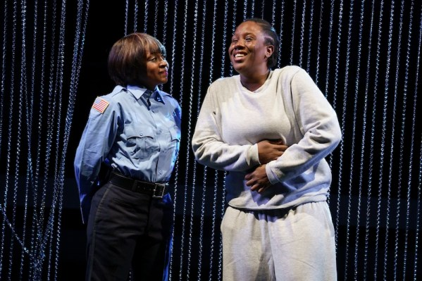 Ebony Marshall-Oliver and Crystal Lucas-Perry