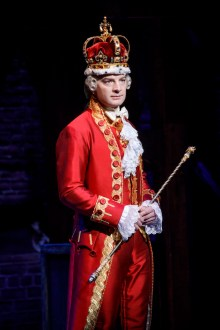 Evan Morton as King George