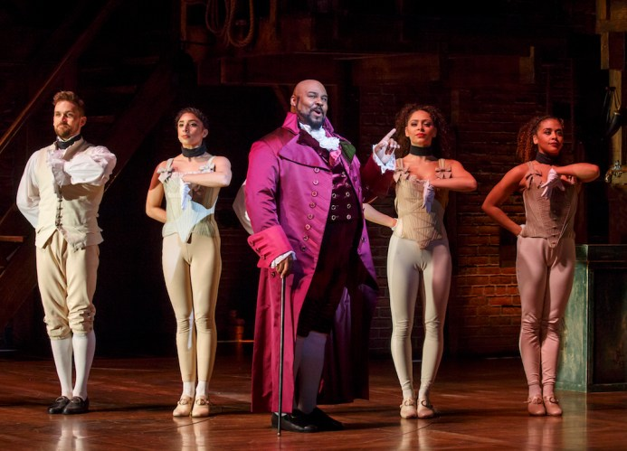 James Monroe Iglehart as Thomas Jefferson
