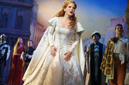 Kelli O'Hara in Kiss Me Kate