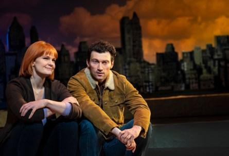 Kate Baldwin and Bryce Pinkham