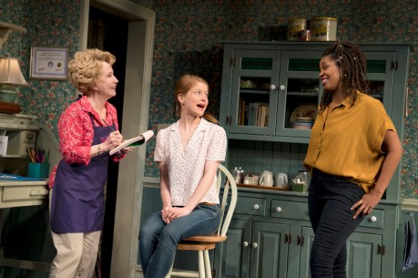 Debra Jo Rupp, Genevieve Angelon and Marinda Anderson in The Cake