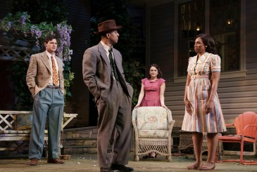 All My Sons 6 Benjamin Walker, Hampton Fluker, Francesca Carpanini and Chinasa Ogbuagu