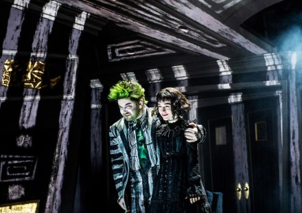Beetlejuice 5 ALEX BRIGHTMAN and SOPHIA ANNE CARUSO