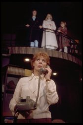 """Actors (Top L-R) Shawn Campbell, Ariane Munker & Johnny Doran, & Gwen Verdon (Bottom) in a scene fr. the Broadway play """"Children! Children!"""" 1972. The straight play closed after opening night."""