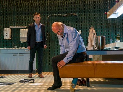 """From left: Andrew Dickinson & Wim van der Grijn in """"Diary of One Who Disappeared"""""""