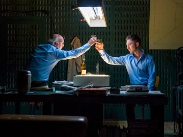 From Left: Wim van der Grijn & Andrew Dickinson in