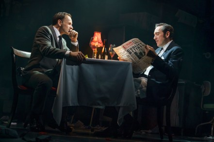 Jonny Le Miller and Bertie Carvel