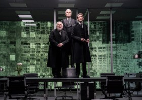 Simon Russell Beale, Ben Miles, Adam Godley,