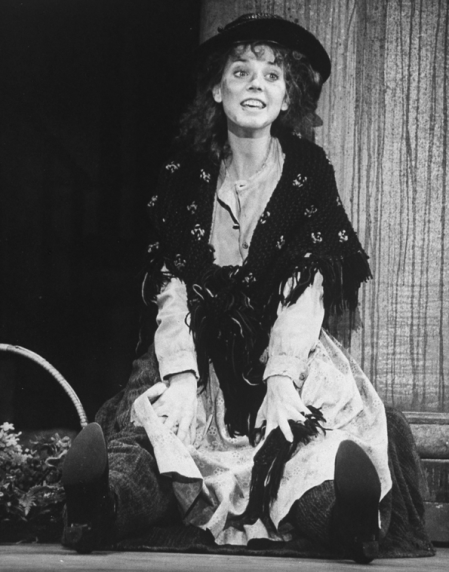 """Melissa Errico in a scene from the Broadway revival of the musical """"My Fair Lady,"""" 1993"""