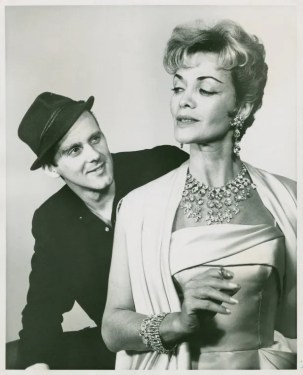 Bob Fosse (Joey Evans) and Carol Bruce (Vera Simpson) in the 1961 revival of Pal Joey