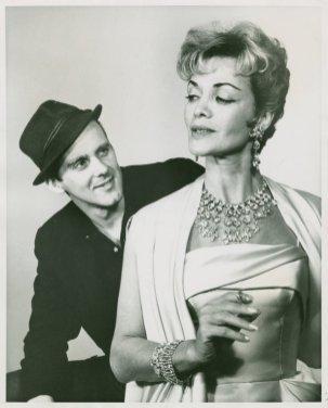 Bob Fosse (Joey Evans) and Carol Bruce (Vera Simpson) in the 1961 revival of Pal Joey