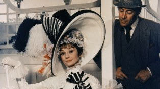 """Audrey Hepburn starred in the 1964 film of My Fair Lady, with Marni Nixon's voice dubbed in for the songs. Rex Harrison portrayed Prof. Higgins both on Broadway and in Hollywood, but Julie Andrews was replaced. """"With all her charm and ability, Julie Andrews was just a Broadway name known primarily to those who saw the play,"""" movie mogul Jack Warner wrote in his memoir. But don't pity Julie Andrews. She was thus free to be cast in the movie of Mary Poppins, which made her a movie as well a stage star."""