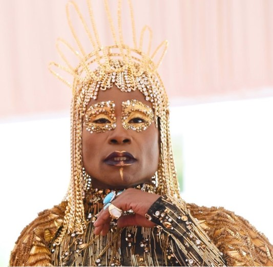 Billy Porter at Met Gala