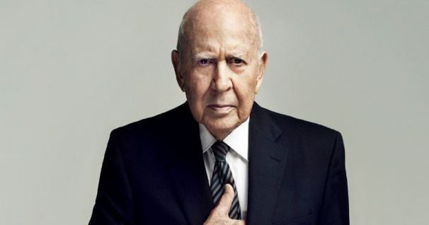 Carl-Reiner as an old man