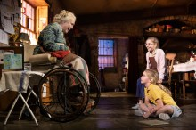 "Fionnula Flanagan (Aunt Maggie Far Away), Matilda Lawler (Honor Carney), and Brooklyn Shuck (Nunu ""Nuala"" Carney)"