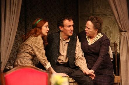 Sarah Street, Ed Malone, and Maryann Plunkett