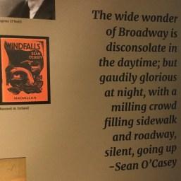 Sean O'Casey exhibition 2
