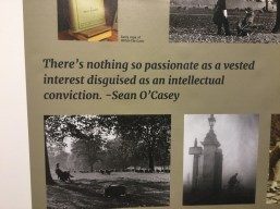 Sean O'Casey exhibition 3