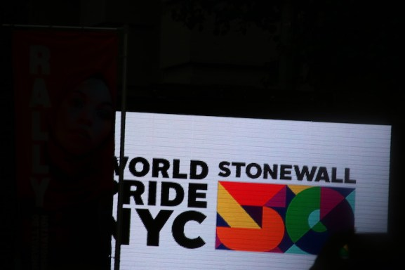 World Pride sign