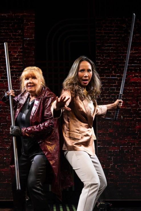 10 Broadway Bounty Hunter Annie Golden & Emily Borromeo