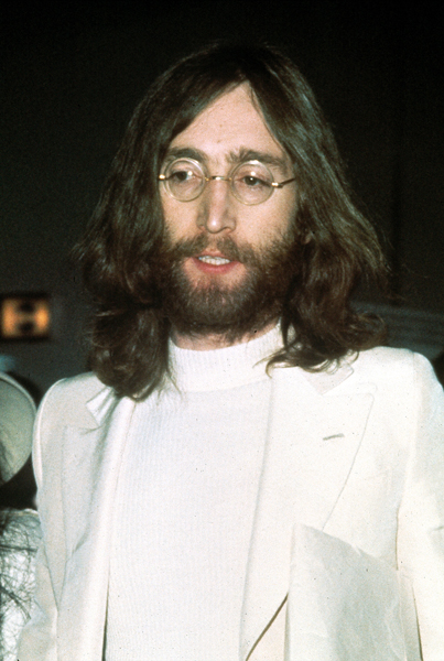 John Lennon of The Beatles is shown circa 1969
