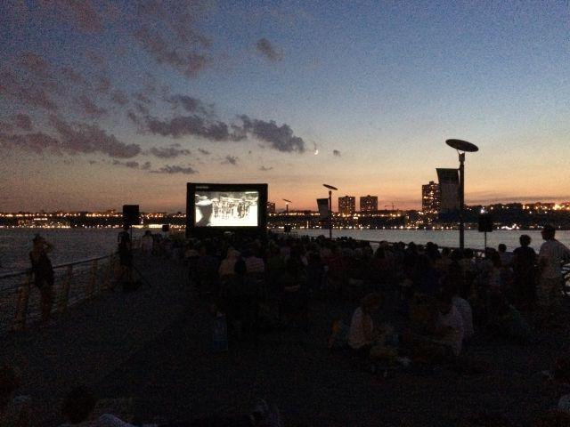 Movies on Pier 1