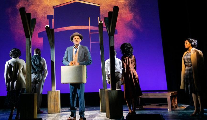 """Taylor Blackman as Emett Till, in the musical """"Till"""""""