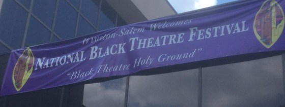 National Black Theater Festival Banner 1