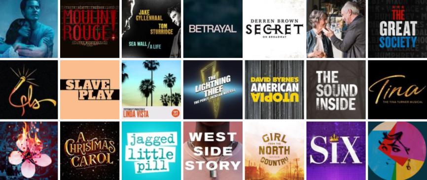Broadway Logos 2019-2020 Season