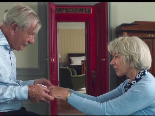 Ian McKellen and Helen Mirren in The Good Liar
