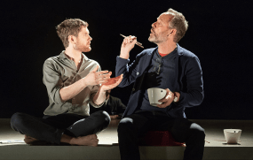 Kyle Soller and John Benjamin Hickey in The Inheritance