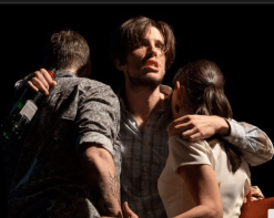 Heroes of the Fourth Turning on stage at Playwrights Horizons